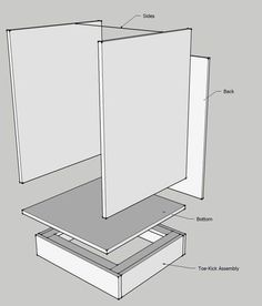 Cabinet Making 101 - tutorial with cut sheet