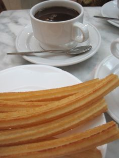 Chocolate and Churros!  A Traditional Tapas Tour in Madrid Spain.
