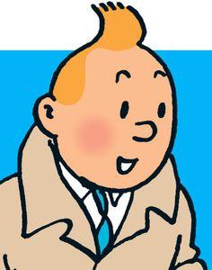 Character Image of Tintin • Tintin, Herge j'aime