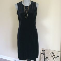 2 VELVET PIECES  ( DRESS AND LONG CARDIGAN) . Good condition. The dress can be worn without a cardigan. 2 Pieces can be worn separate. Ronni Nicole Dresses Midi