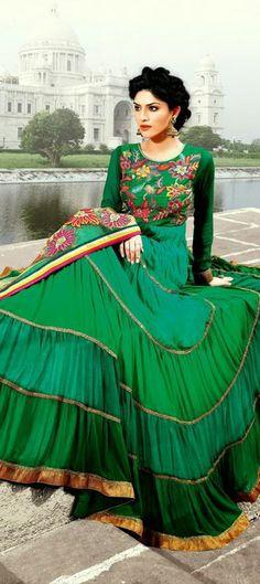 407878: #Anarkali #Designer #Festivewear