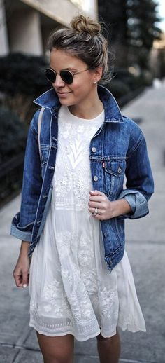 Awesome 42 Casual But Cute Spring Outfits Ideas. More at #dressescasualspring
