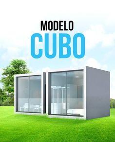La casa CUBO de 40.84 m2 es una vivienda con sala, comedor, cocina integral, un baño, y una recámara. La característica principal del proyecto, a demás de semejar dos cubos, es que los espacios públicos y privados están totalmente separados uno del otro. http://www.arqmaster.com