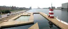 Plot piscine flottante Copenhague