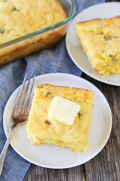 Green Chile Cheddar Cheese Cornbread Recipe