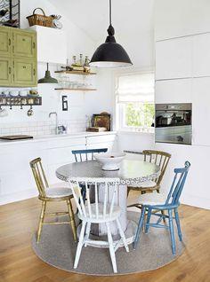 Apartamento com decoração estilo escandinavo por Steen