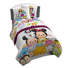 Have Soft Faces White Sheet Set! This sheet set features many of the beloved Disney character is tsum tsum style which makes them all the more loveable. Made with super soft material to provide utmost comfort. Disney Bedding, Disney Nursery, Cool Bedrooms For Teen Girls, Girls Bedroom, Tsumtsum, Kids Bedding Sets, Disney Tsum Tsum, Twin Sheet Sets, Bedding Collections