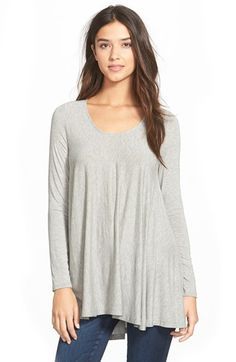 Lush+Clothing+Long+Sleeve+Swing+Tee+(Juniors)+available+at+#Nordstrom