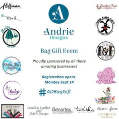 EEK!! And here is the other half of our sponsors for our super fun (and major warm fuzzies!!) 'Bag Gift' event kicking off VERY soon! (See our previous post to check out the first half!) A BIG thank you to the following amazing businesses who have been so generous in supporting this event. Make sure you head to their pages and show them some love! @andriedesigns @hoffmanfabrics @sewingpatternsbymrsh @bettyboxpleat @onlinebagsupplies @radgedesignfabric Zip Coop Australia (Facebook) Carolina… Warm Fuzzies, Box Pleats, Box Design, Online Bags, Australia, Social Media, Facebook, Zip, Amazing