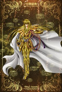 Saint Seiya - The Lost Canvas - Virgo Asmita
