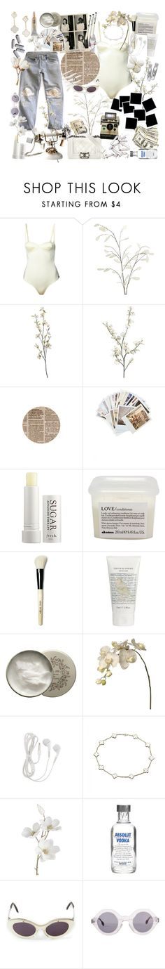 """""""sugar lips"""" by spxxx ❤ liked on Polyvore featuring Bliss and Mischief, Prism, Chanel, Pier 1 Imports, Tiffany & Co., Chronicle Books, Fresh, Davines, Bobbi Brown Cosmetics and Green & Spring"""