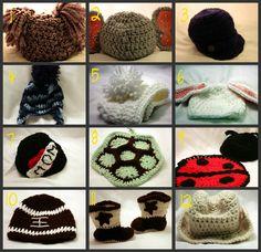 0ba601e1643 Crocheted Baby Photo Props Crochet Baby Clothes