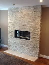 Inexpensive linear fireplace alternative.