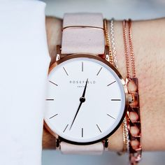 Fashion-forward watches inspired by Amsterdam & NYC. Discover now at http://www.rosefieldwatches.com