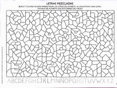 DESCUBRO EL ALFABETO 2. SALLY JOHNSON - Betiana 2 - Picasa Web Albums School Worksheets, Worksheets For Kids, Geometric Coloring Pages, Montessori Art, Learn Portuguese, Vision Therapy, English Alphabet, Preschool Letters, Early Literacy