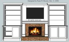 fireplace entertainment center - Google Search
