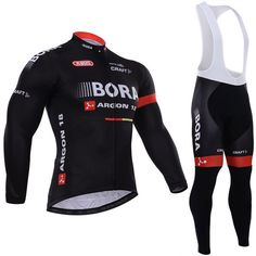 41.99$  Buy now - http://alip1g.shopchina.info/go.php?t=32789989438 - BORA pro winter cycling jersey black portswear breathable long bike clothing quick dry Color stripe cycling wear 41.99$ #buyonline