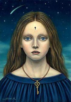 ノスタルジックな少女たちの世界を描く松本潮里の絵画作品集