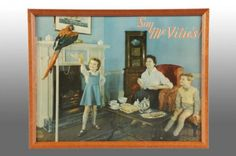 219: Tin McVitie's English Biscuit Sign. : Lot 219