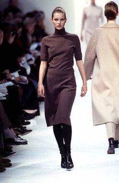 Kate Moss Jil Sander - Ready-to-Wear - Runway Collection - WomenFall / Winter 1996