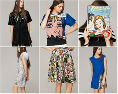 front row shop comic cartoon art pop art collection blog post fashion blogger turn it inside out belgium