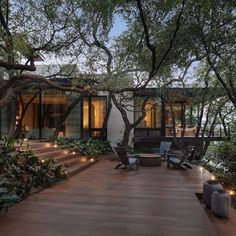 Dream Home Design, Modern House Design, Appartement Design, Forest House, Dream House Exterior, Luxury Real Estate, Exterior Design, Future House, Beautiful Homes