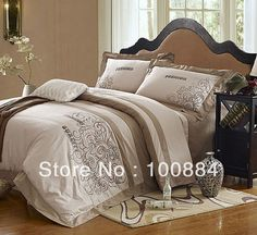 Хлопок отдыха наборы постельных принадлежностей, 4 шт. пододеяльник без наполнителя, 500TC хлопок современные постельное белье, постельное белье с твин полный
