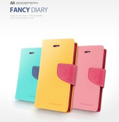 Goospery Color Fancy Diary Case for Galaxy Alpha