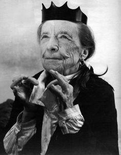 Louise Bourgeois  photography — helmut newton