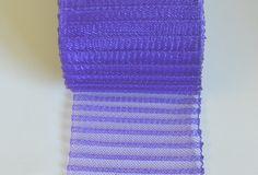 """3"""" Pleated Crinoline - Purple - Millinery Online"""