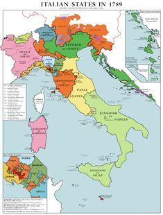 Kingdom Of Naples, Kingdom Of Italy, Modern History, European History, Italy History, Republic Of Venice, Italy Map, Italy Travel, Country Maps