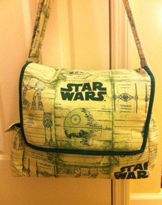 Star Wars Diaper Bag by InkandSpool on Etsy, $80.00