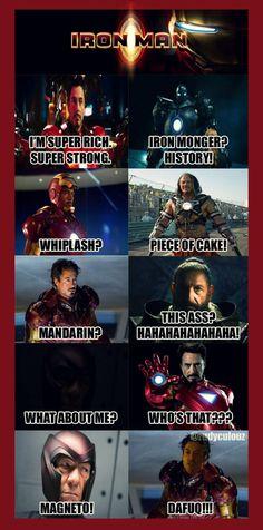 iron man - magneto