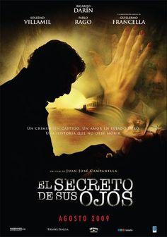 """""""El secreto de sus ojos"""", crime thriller film by Juan José Campanella (Argentina, 2009)"""