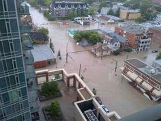 The Calgary Flood Cleanup - News - Bubblews Flood Cleanup, Weather Storm, Dust Storm, Visit Canada, Natural Disasters, Calgary, Beautiful World, The Neighbourhood, Mansions