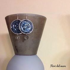 boucle d'oreille avec perle