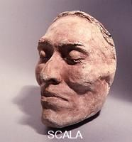 Death mask of 'Ishi' the last survivor of a small band of Yahi who escaped from a massacre of their people in 1865. Regarded as the last 'pre-historic' Native American 'Ishi' was found in 1911 and was studied by anthropologists until his death in 1916.