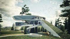 홈 디자인의 미래 - 홈 미래 홈 디자인 Futurehome Large1와 홈 디자인의 미래