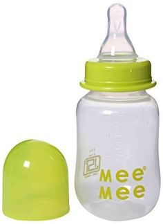 Mee Mee Feeding Bottle Green 125ml Buy Online at lowest price in India: BigChemist.com