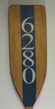 Wooden Decorative House Number Boat Oar Nautical Address Painted Oar Wall Art Paddle Coastal D Coastal Homes, Coastal Decor, Coastal Style, Coastal Living, Coastal Curtains, Lakeside Living, Coastal Bedding, Coastal Bedrooms, Beach Homes