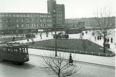 Mathenesserplein Rotterdam (jaartal: 1945 tot 1950) - Foto's SERC