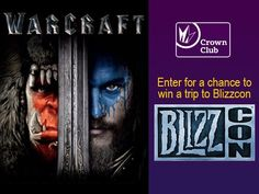 Blizzard World of Warcraft BlizzCon Sweepstakes