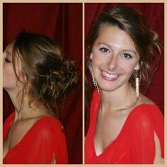 Side messy bun- Mathilde Wurtz
