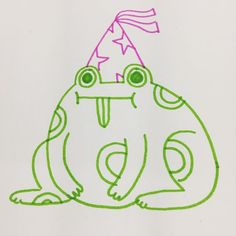 Little Doodles, Cute Doodles, Frog Art, Cute Frogs, Frog And Toad, Aesthetic Art, Wall Collage, Cute Art, Art Inspo