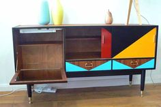 SOLD! G Plan E Gomme Vintage Mid Century Modern Sideboard Drinks ...