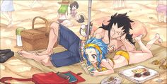 Fairy Tail - Gajeel and Levy
