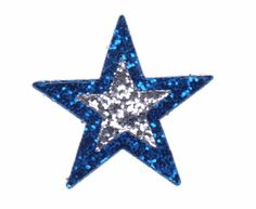 blue and white #star