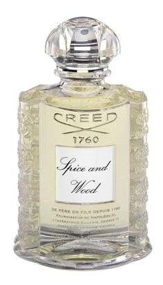 Because I wear Creed Silver Mountain Water. Not because it costs $550 for 8.4 ounces. OUCH! (No, that isn't how much my scent costs!)