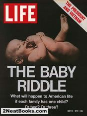The Population Riddle: Baby  life magazine cover: 19 May 1972
