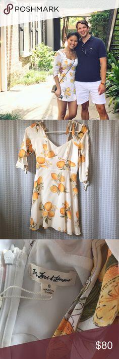 For love and lemon dress See official revolve posting for more images and more info   http://www.revolve.com/mobile/for-love-lemons-limonada-mini-dress-in-lemon/dp/FORL-WD468/?&product=FORL-WD468 For Love And Lemons Dresses Mini